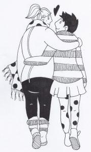Zeichnung von Lea Murphy